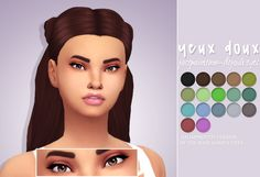 Hello everyone! Soo I wanted to try to make eyes (I did in the past but they looked very bad haha I changed my methods) and I came up with these! They are improved versions of the base game eyes! I hope you guys will enjoy