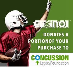 We are proud to support the Concussion Legacy foundation
