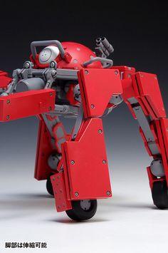 攻殻機動隊ARISE GHOST IN THE SHELL ロジコマ(兵站輸送車輛)組裝模型 | 玩具人Toy People News