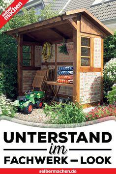 Fachwerk Unterstand Selber Bauen Selber Bauen Garten Fachwerk Garten Unterstand