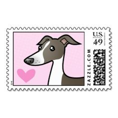 Greyhound / Whippet / Italian Greyhound Love Stamps Dealsplease follow the link to see fully reviews...