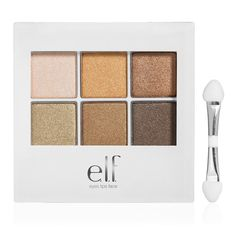 "E.L.F. Essential Beauty School Eyeshadow Compact in ""Natural."""