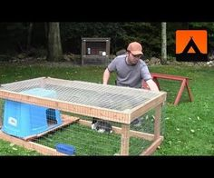 How to make a simple, inexpensive rabbit hutch without breaking the bank.