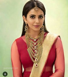 Rakulpreet Indian Beauty Saree, Saree Dress, India Jewelry, India Beauty, Asian Beauty, Bollywood Actors, Indian Actresses, Indian Film Actress, South Indian Actress