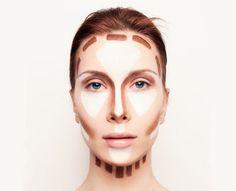 Få højere kindben og skjul dobbelthagen med makeup - guiden er lige her
