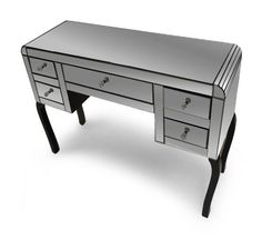 Smoked Mirror Dressing Table