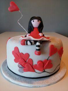 Gorjuss cake for the birthday's daugther