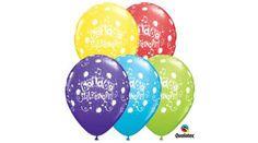 Boldog születésnapot lufi hangjegyes 5 db, Nicol Party Kellék Bolt Party, Receptions, Parties