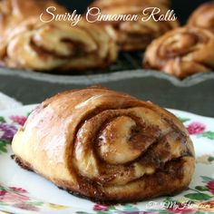 Swirly Cinnamon Rolls from Recipes, Food and Cooking