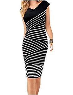 ZXFHZS Womens Long Sleeve Casual Round Neck Slim Dress Bodycon Midi Dress