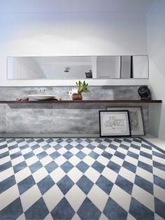Lastre in Grès: ambientazione bagno. Design by dsg ceramiche. www.dsgceramiche.it