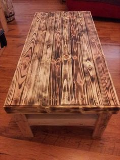 Antique Pallet Coffee Table