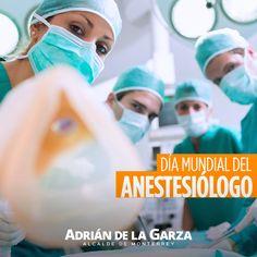 ¡Muchas felicidades a todos los médicos anestesiólogos en su día!