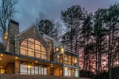 Smith Lake, Alabama  modern house by Christopher Architecture and Interiors