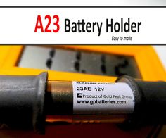A23 (23AE) Battery Holder