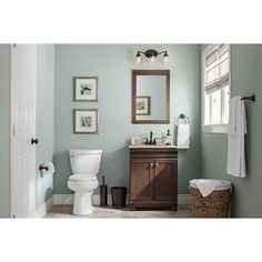 Shop Style Selections Windell Auburn Integral Single Sink Bathroom Vanity with Solid Surface Top (Common: 25-in x 19-in; Actual: 24.5-in x 18.5-in) at Lowes.com