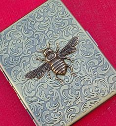 vintage cigarette case -