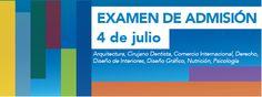 Examen de admisión 4 de Juilo. Informes al Tel (461) 6134385 ext 119 de lunes a viernes de 8 a 18 hrs.