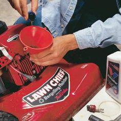 How to Winterize Your Lawnmower - take a few minutes at the end of the season to prepare your mower for storage and it will start up quickly in the spring.