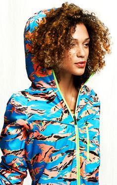 Nike Camouflage Trail Jacket.