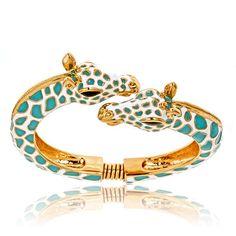 animal jewelry ~ Giraffe bracelet! <3