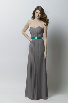 Like this for bridesmaid dress but different color belt