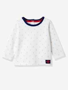 Lot de 2 T-shirts bébé garçon lot blanc rayé+jaune - Vertbaudet a444a538e89
