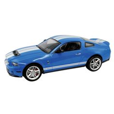 KidzTech 1:12 Ford Shelby GT500 Remote Control Car, Blue