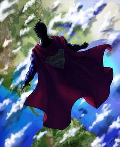 Celebrating all things Superman Jump right to your favorites: Superman ★ Supergirl ★ Superboy ★. Batman Y Superman, Superman Family, Superman Man Of Steel, Dc Heroes, Comic Book Heroes, Comic Books Art, Comic Art, Supergirl, Batgirl