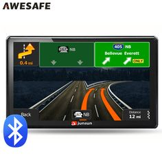 7 inch Car GPS navigation Bluetooth avin 256MB 800Mhz 8GB Full Europe/USA/ Russia navitel navigator Sat Nav Truck vehicle gps * Check this awesome product by going to the link at the image.