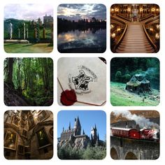 moodboard: International Wizarding Schools - Hogwarts    The castle is a stronghold of ancient magic.