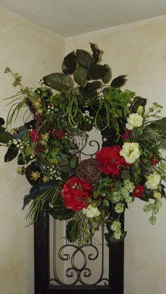 Fresh Summer Wreath by Danna