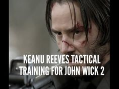 KEANU REEVES TACTICAL TRAINING FOR JOHN WICK 2 WITH AARON COHEN #sweatequity