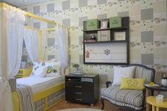 Quarto infantil no showroom Casa Mineira, quarto decorado pela decoradora Lica Cukier.