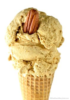 Pumpkin Ice Cream Recipe (via Bloglovin.com )