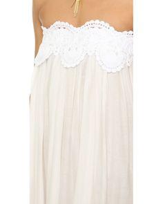 Lila.eugenie | White Grecian Maxi Dress | Lyst
