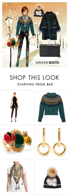 """WARM CLOTHING IS COZY"" by m-kints ❤ liked on Polyvore featuring Yves Saint Laurent, Temperley London, Gucci, Fendi, Dolce&Gabbana, Sophie Buhai, Johnny Was, Bogner, men's fashion and menswear"