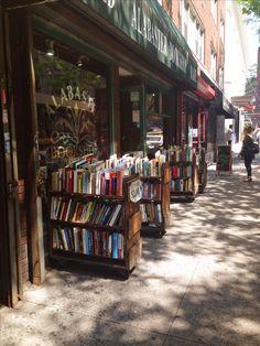 Librería en Nueva York.