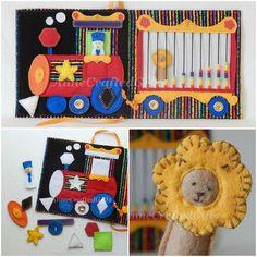Circus Quiet Book Busy Book Toddler or Preschooler Quiet