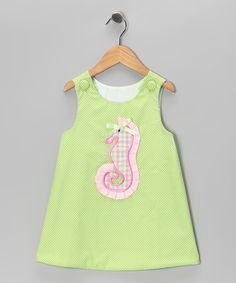 Lime Sea Horse Jumper