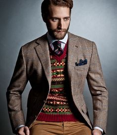A fair isle sweater is a great garment to rock in fall and winter. And when the holiday season comes, nothing will get you and the people around you in the Christmas spirit like donning a cool fair isle jumper.