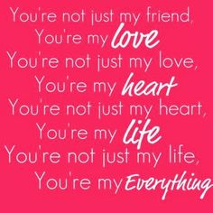 Cute love quotes for him on valentine s day. Cute Love Quotes, Love Husband Quotes, Love Quotes With Images, Love Quotes For Boyfriend, Life Quotes Love, Love My Husband, Romantic Love Quotes, Quotes Images, Amazing Husband