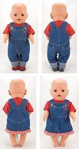Baby Clothing Jeans overall & pinafore pattern, doll sewing pattern for baby dolls. Baby ClothingSource : Jeans overall & pinafore pattern, doll sewing pattern for baby dolls. Baby Dress Patterns, Baby Clothes Patterns, Doll Sewing Patterns, Clothing Patterns, Pattern Sewing, Sewing Doll Clothes, Girl Doll Clothes, Barbie Clothes, Baby Born Clothes