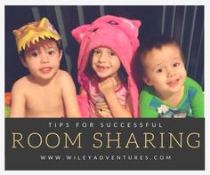 Do you need to have your children share a room? Here are 5 tips for making the process go smoothly!