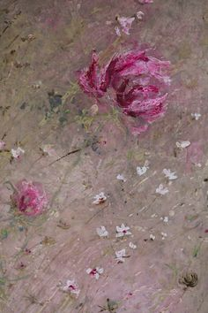 "Note this painting ""Laurence Amélie aux jardins de Bagatelle ! - Grange de charme""  can be used as backdrop for flower arrangement (cornflowers and peonies perhaps)"