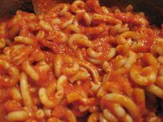 VeggieSue's Veggie Adventures: Chef AJ's Quick Sun-Dried Tomato Marinara