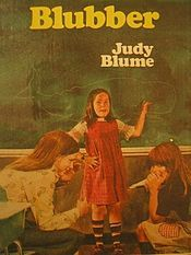 """""""Blubber,"""" by Judy Blume - Jill is a 5th grade student who is being teased for being chubby.  Rather than give in to the teasing, Jill takes steps to create a positive classroom environment.  This would be a book for low-level readers."""