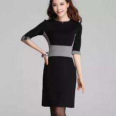 vestido elegante formal juvenil envío gratis 1213