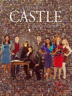 The miracle of 100 Episodes. Castle Series, Castle Tv Shows, Castle 2009, Castle Abc, Castle Parts, Mejores Series Tv, Richard Castle, Castle Beckett, Stana Katic
