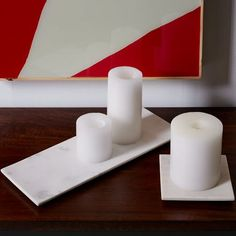 Marble Trays   west elm